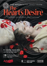 The Heart's Desire A5 Flyer